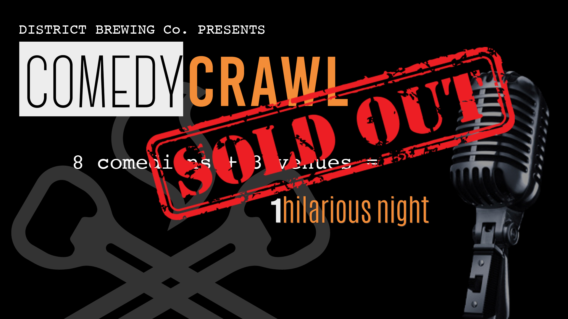 The Comedy Crawl Sept. 23 /'17 - Saskatoon, SK #YXE