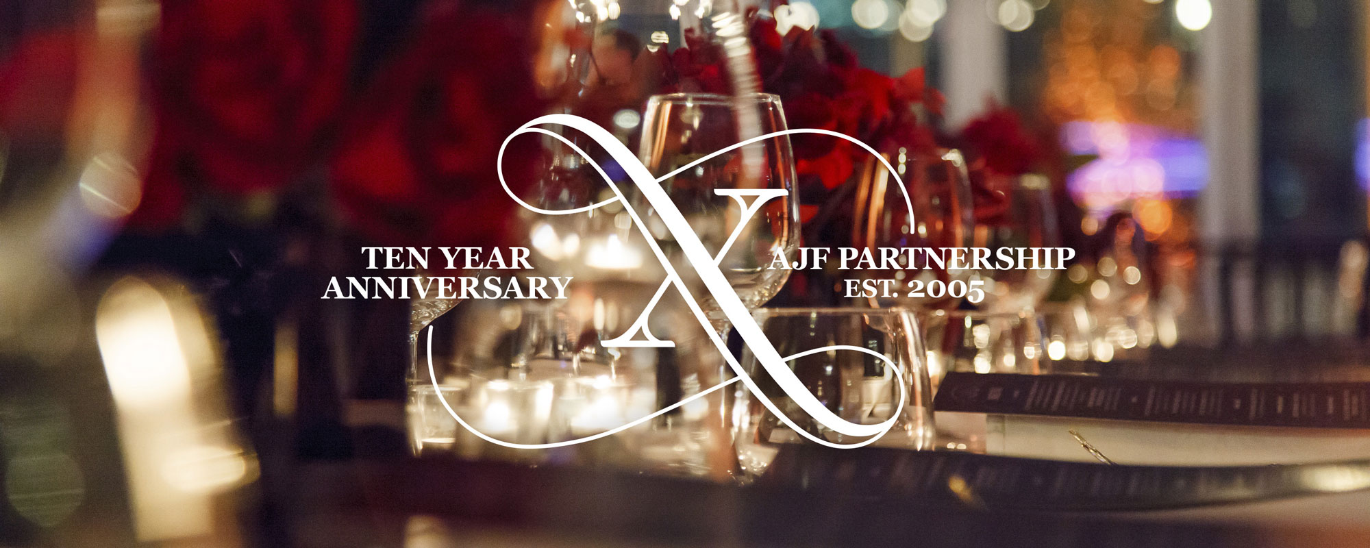 AJF Partnership Tenth Anniversary Soiree // Invitations