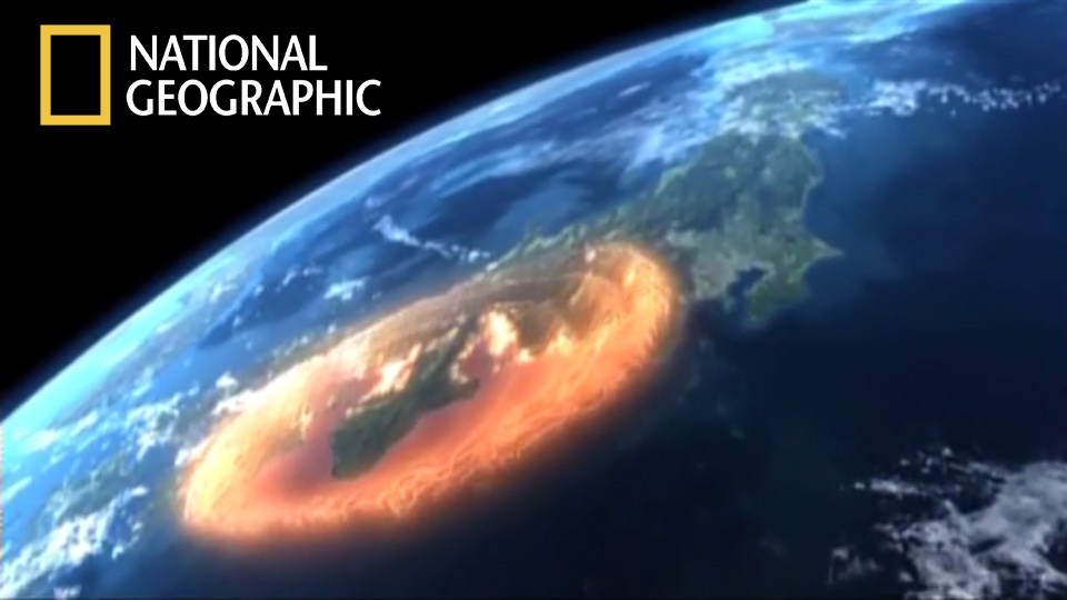 """""""Megaquake""""                          Hour-long broadcast documentary edited for National Geographic Channel International"""