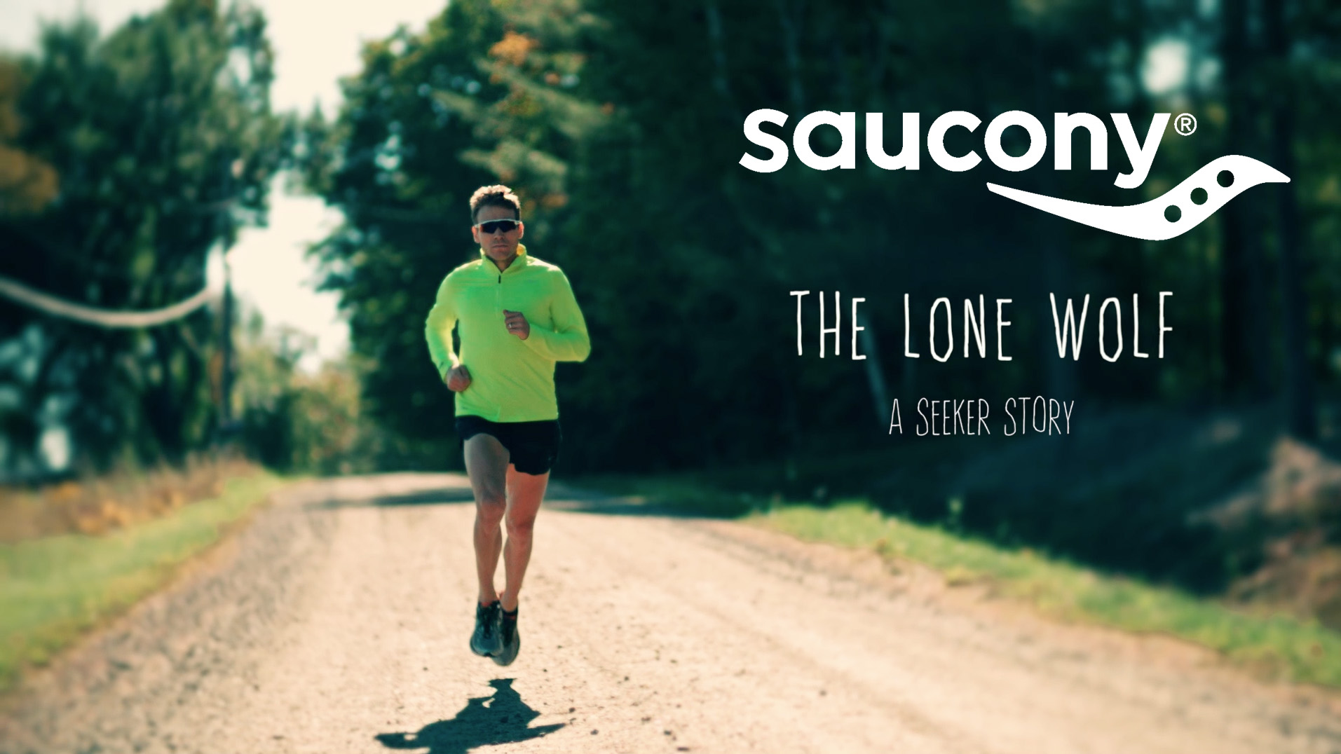 Ben True - The Lone Wolf   Produced & Directed for Saucony
