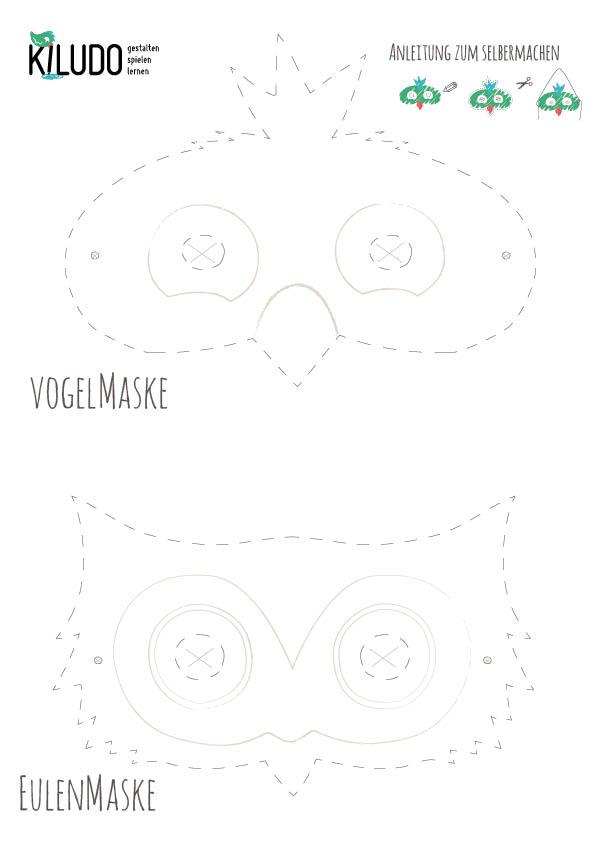 Vogelmaske