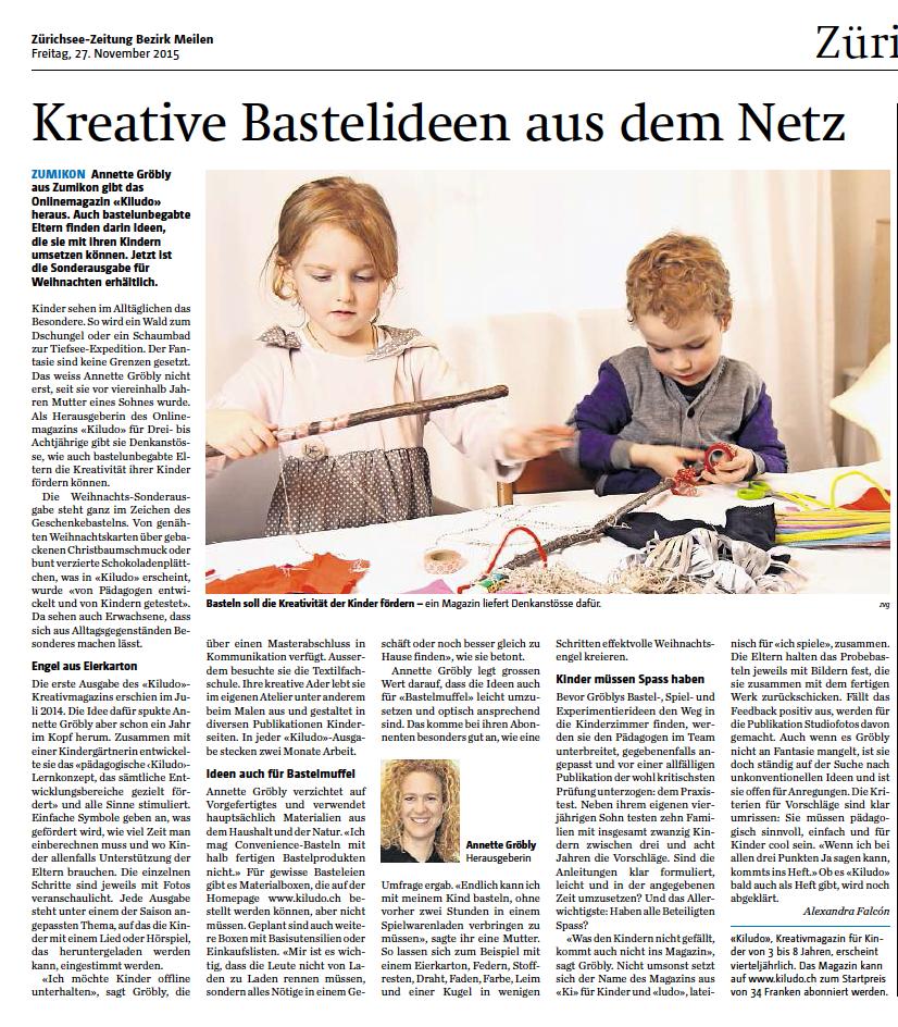 Zürichsee Zeitung iludo