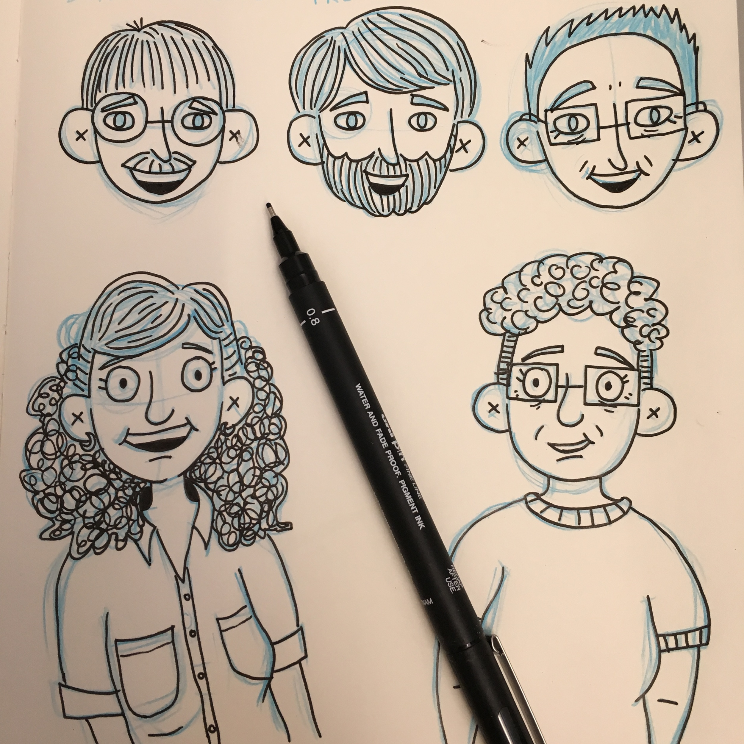 Family Sketches 3