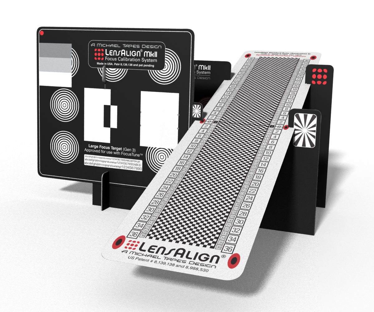 LensAlign MkII Target (Generation 4)