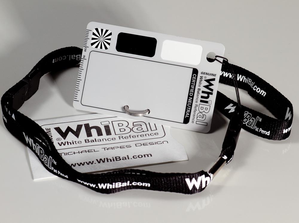 WhiBal Pocket Kit - Includes Tyvek Sleeve, Lanyard, S-Hook/Stand