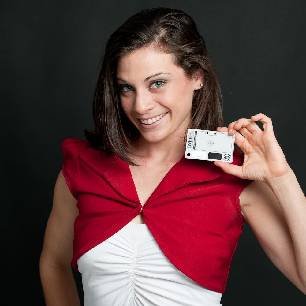 WhiBal Pocket Card - Includes Tyvek Sleeve