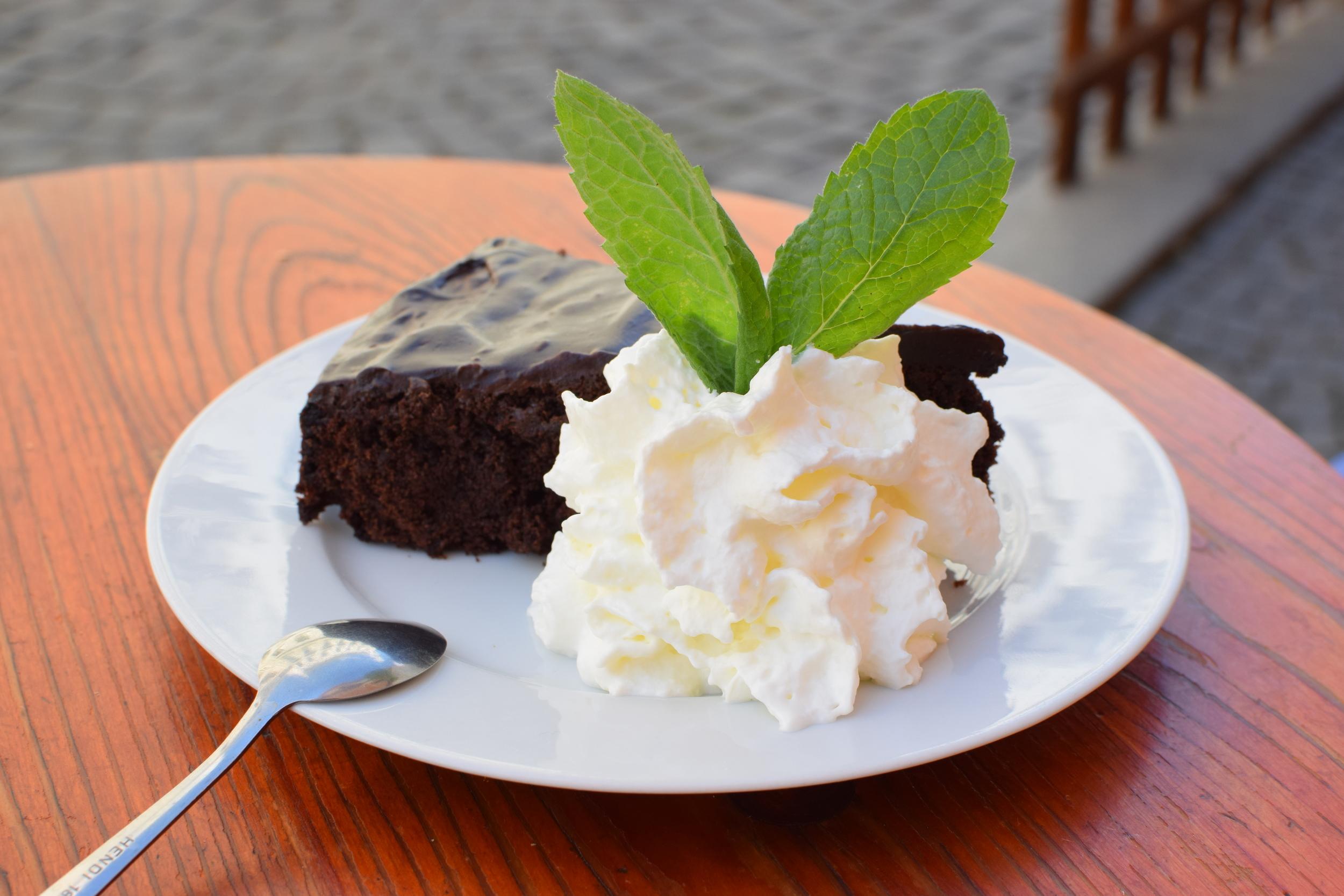 domácí čoko-řepový koláč