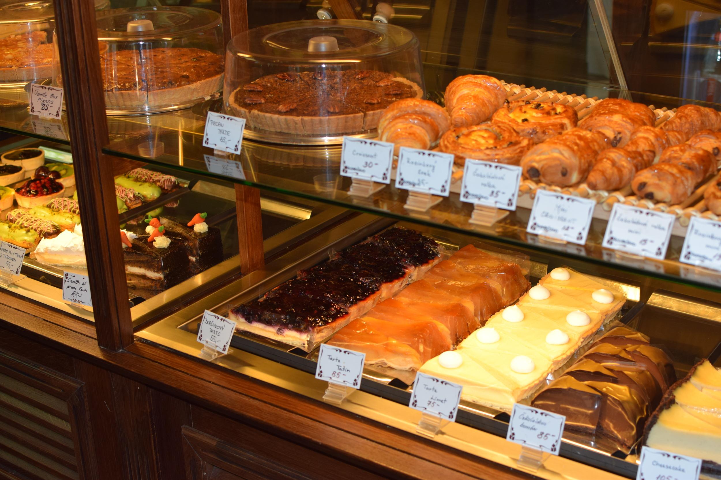 výběr dezertů