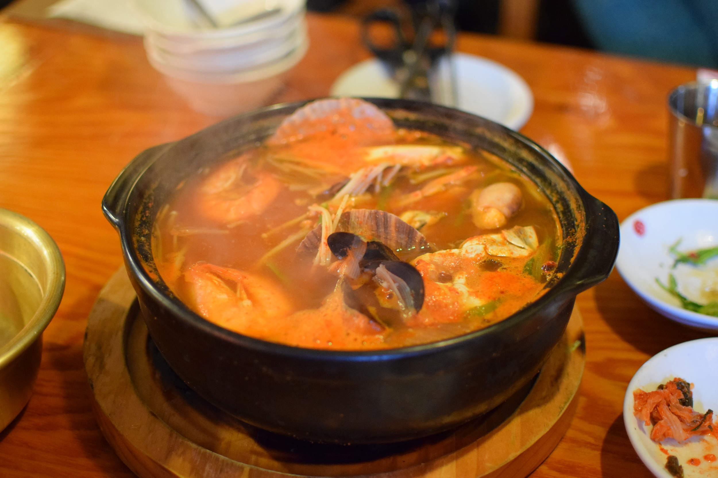 polévka z mořských plodů