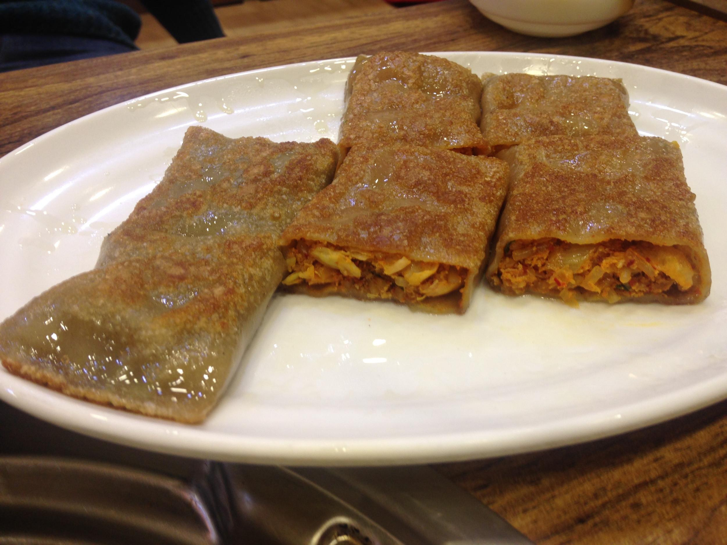 pohanková omeleta