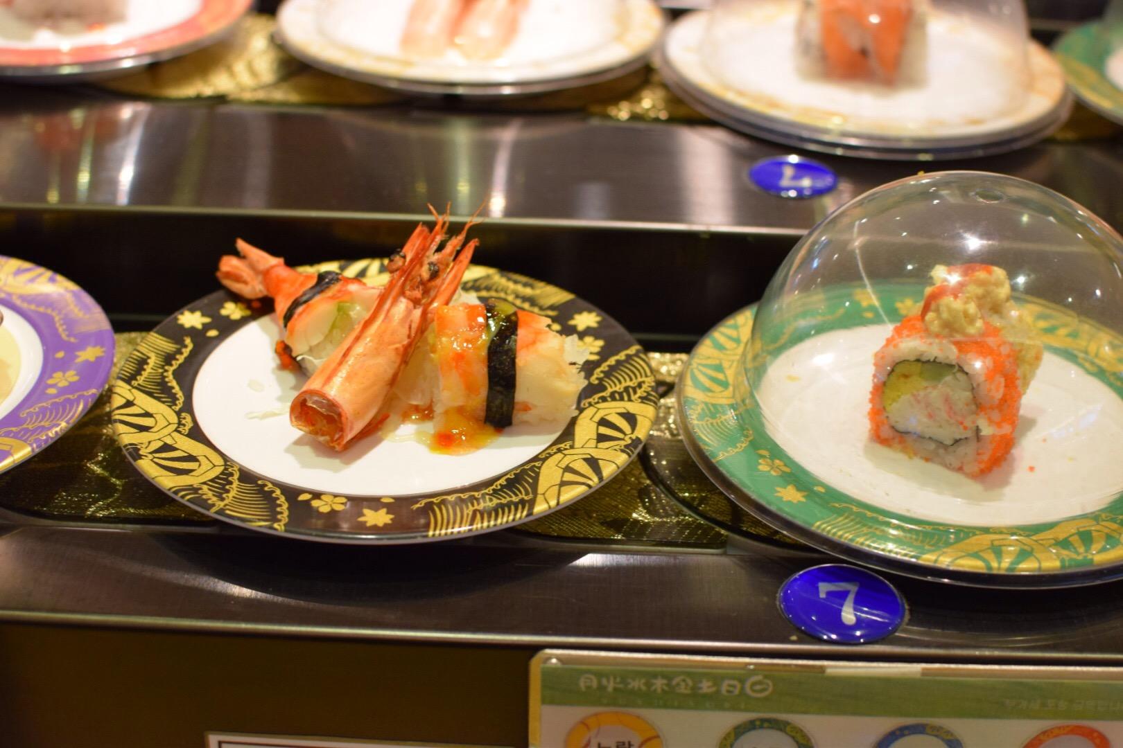 takhle vypadá running sushi!
