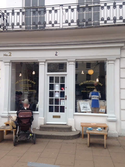 the Curator cafe/store, 2 The Plains, Totnes