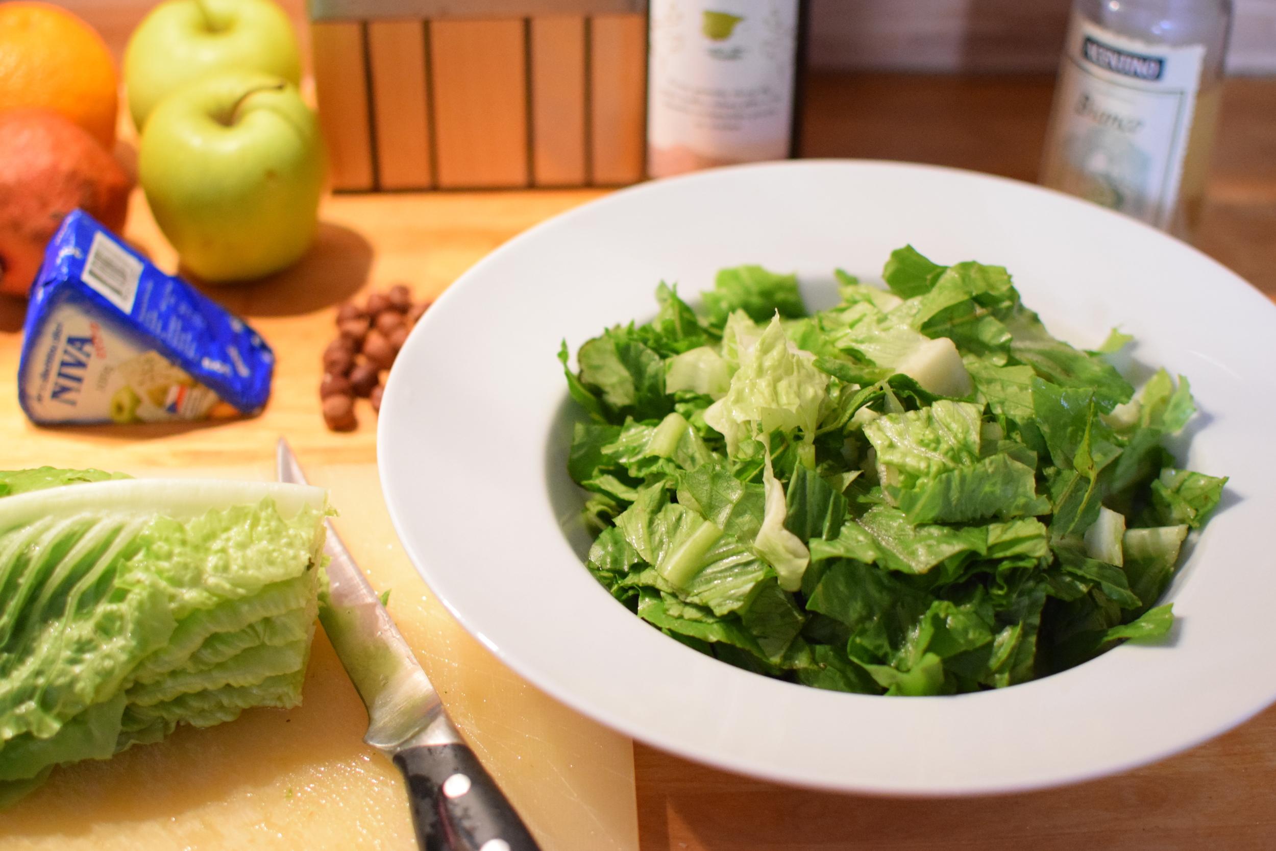 nakrájejte si salát