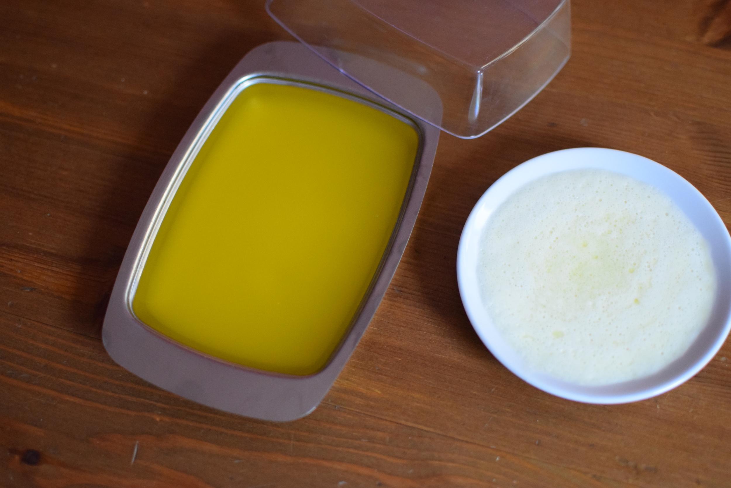 tohle je všechno - ze 170 g másla