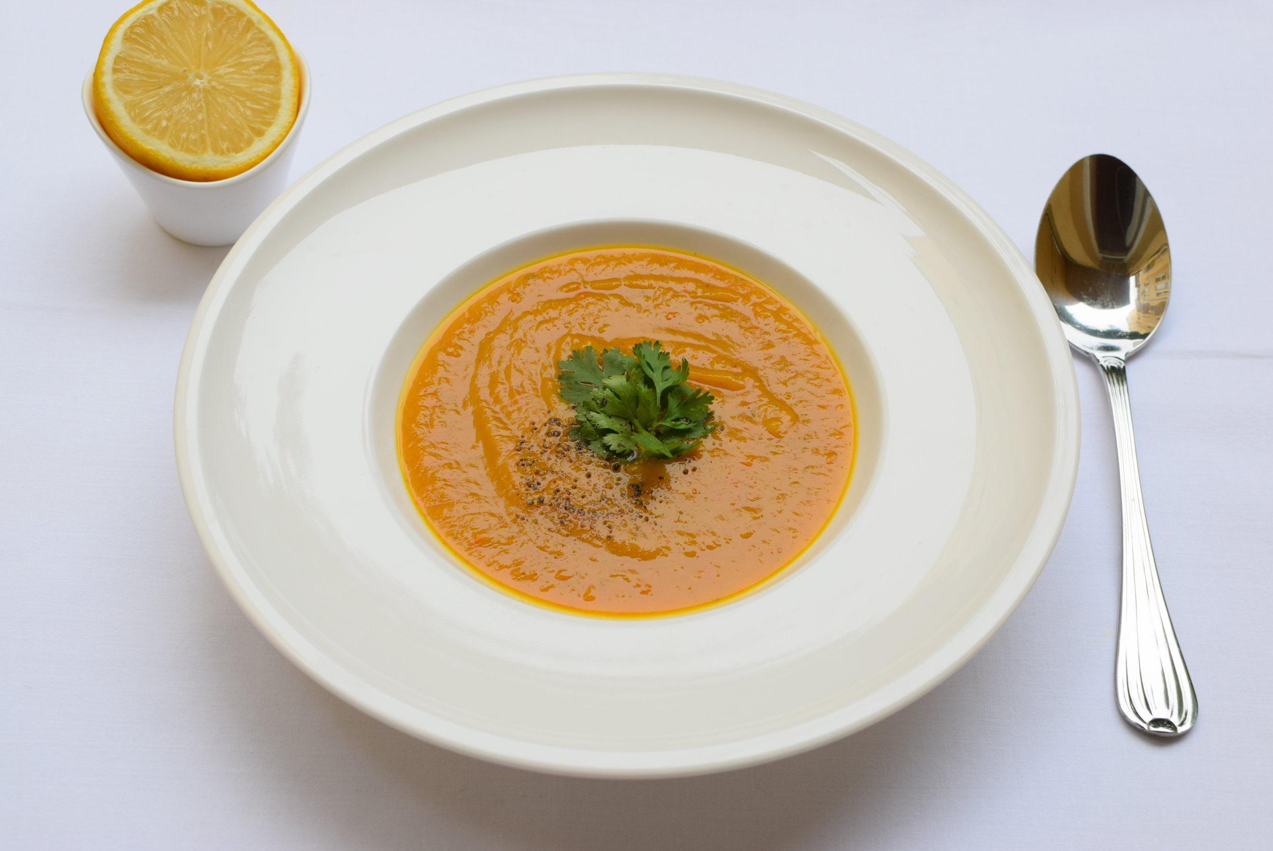 pikantní dýňová polévka  ( klik )