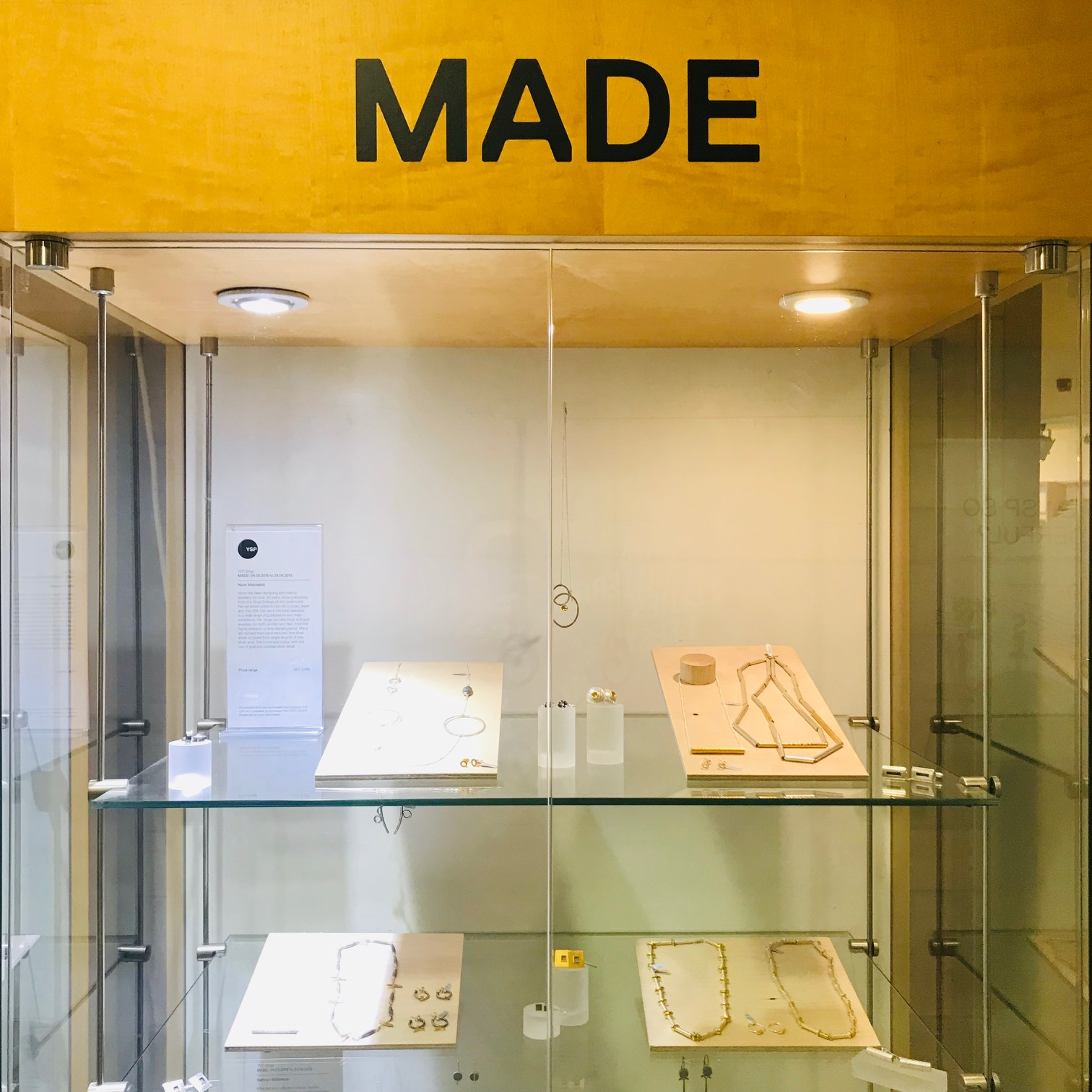 MADE  at Yorkshire Sculpture Park   4th March-23rd June 2019   Yorkshire Sculpture Park  West Bretton,  Wakefield WF4 4LG    https://ysp.org.uk