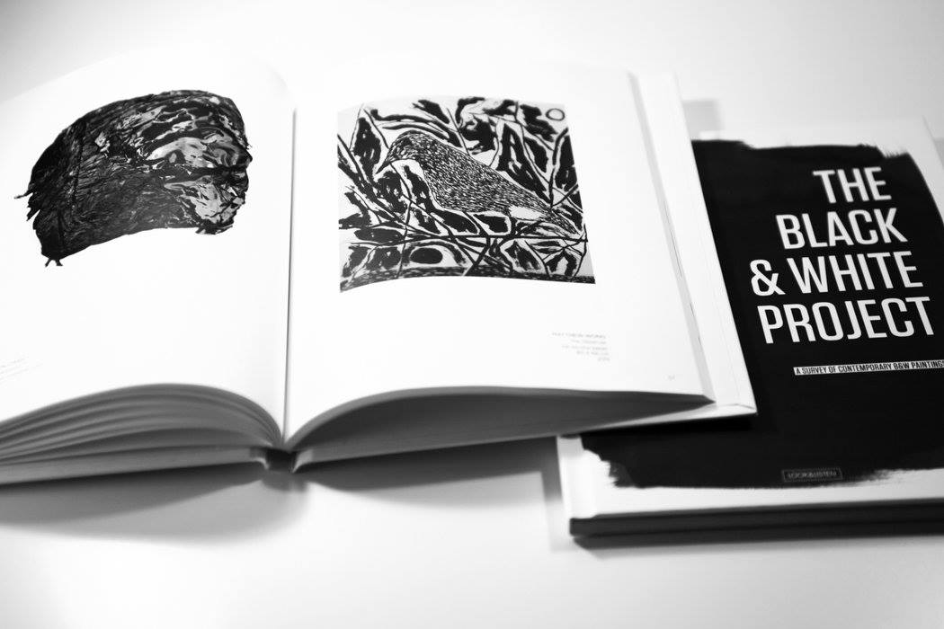 The B&W Project book. I created this book for the London 'Sluice' Art fair, I took 100 artists with me in this book instead of just 30 …