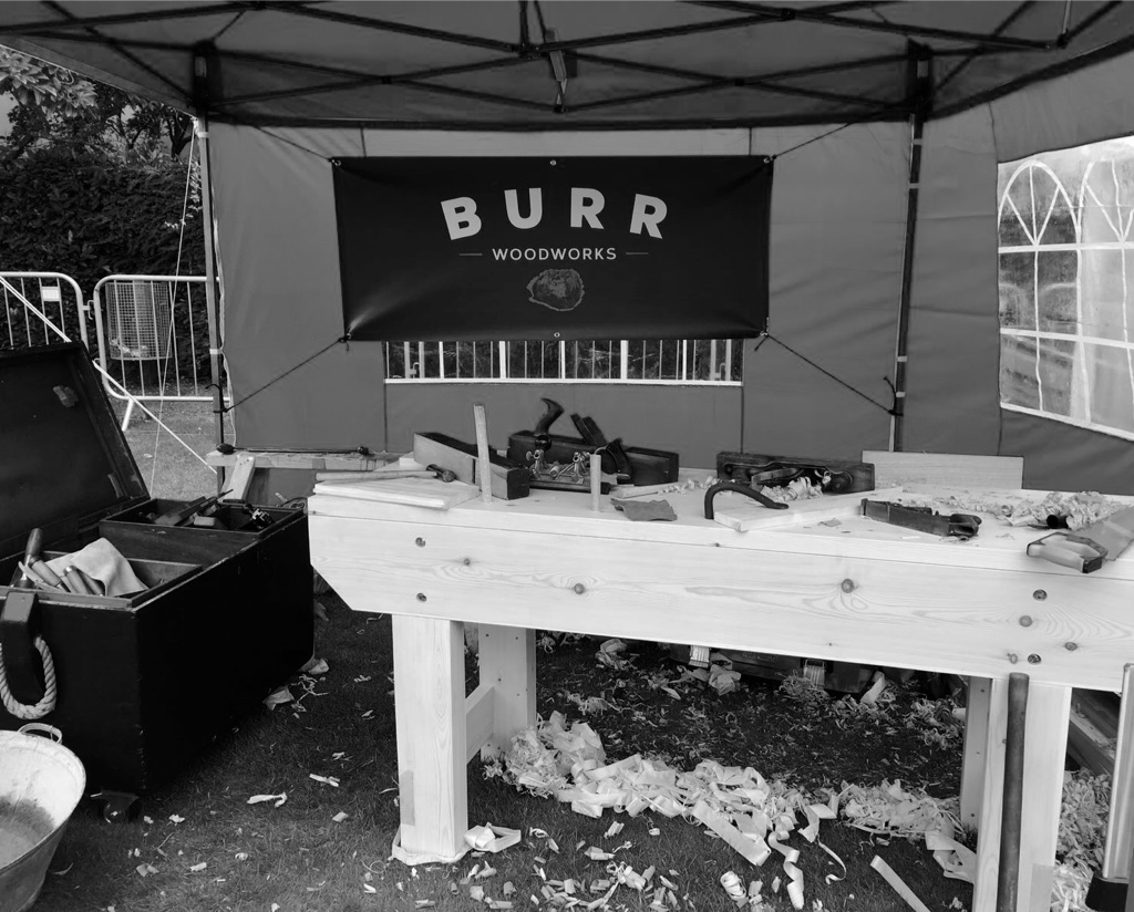 - Demonstrating at the Salisbury Craft and Heritage Festival 2016, encouraging members of the public to have a go with woodworking hand tools.