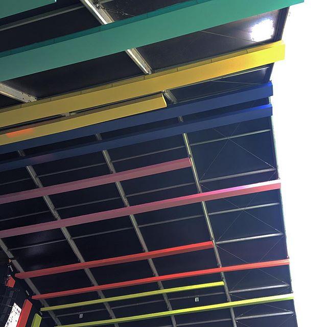 Lisbon's stage ceiling colors