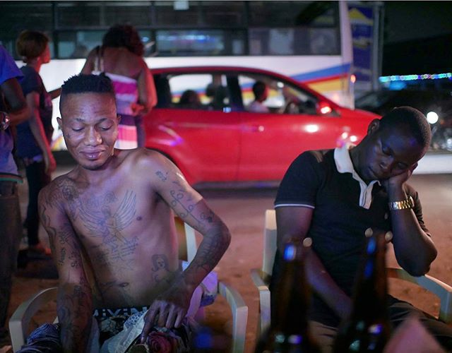Nightlife and tattoos in Bon Marché  Kinshasa - 2018