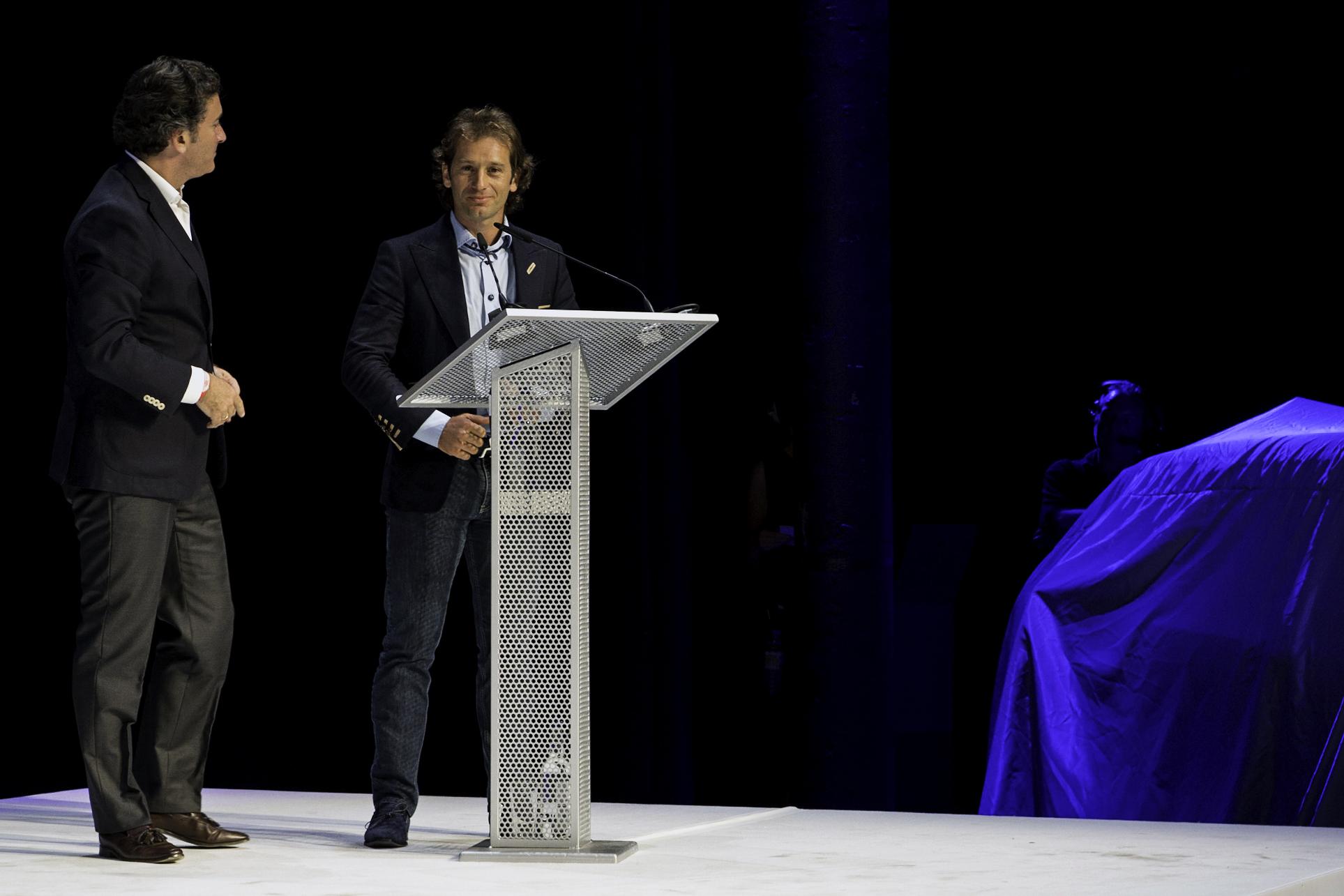 Jarno Trulli & Alejandro Agag - Formula-e launch, Roundhouse