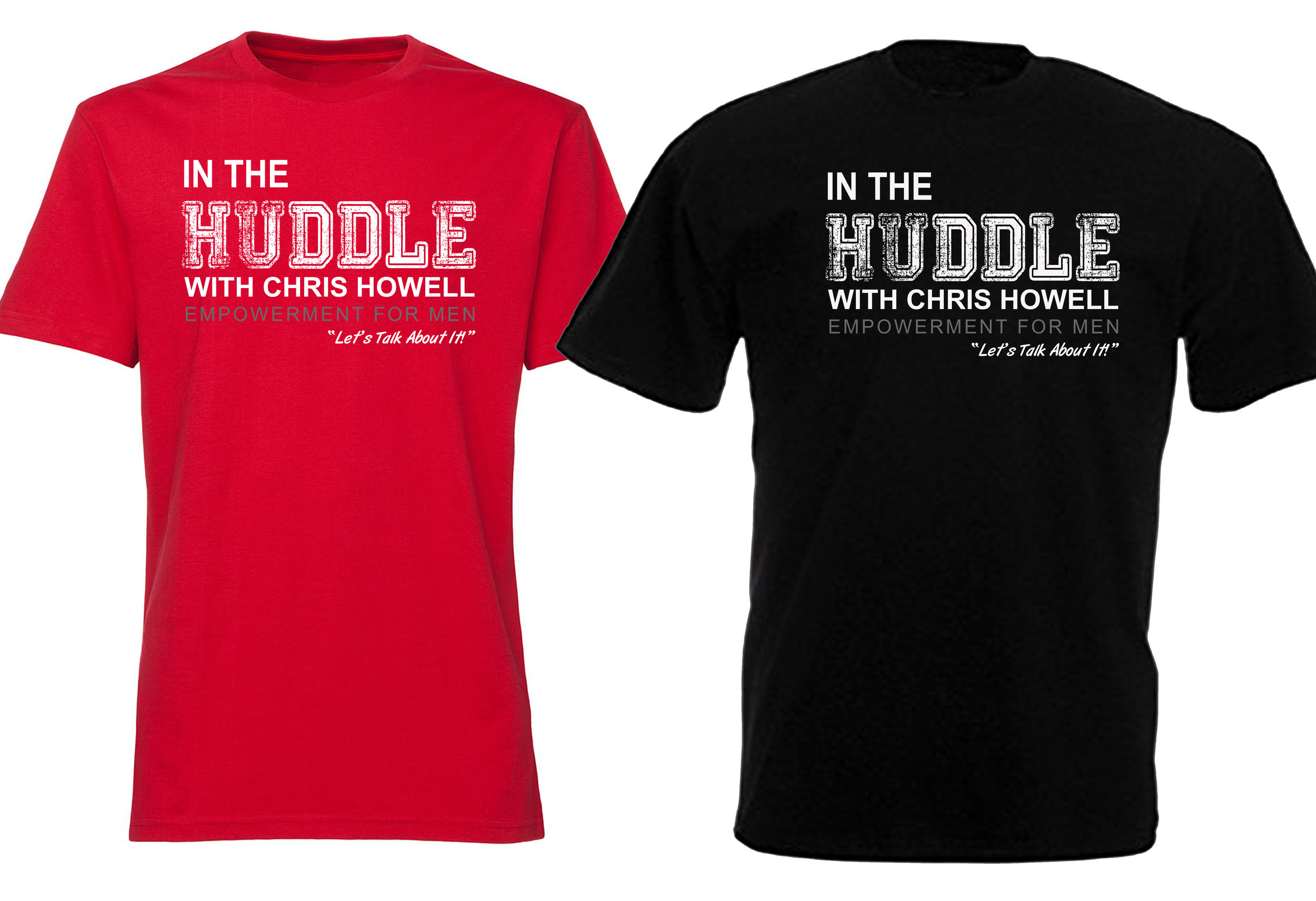 In the huddle t-shirts.jpg