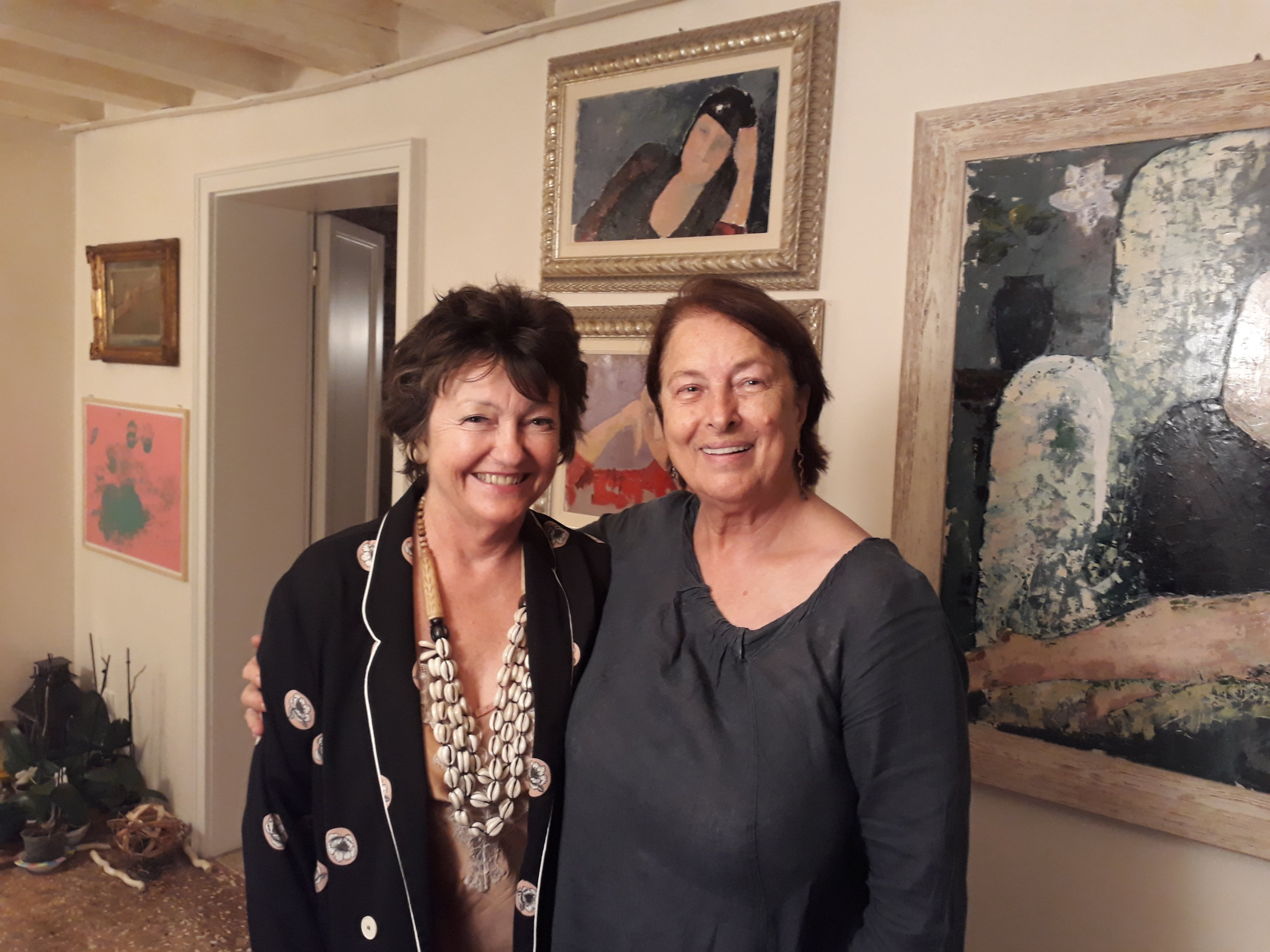 Susie Johns & Guiliana Grando, Venice 2018