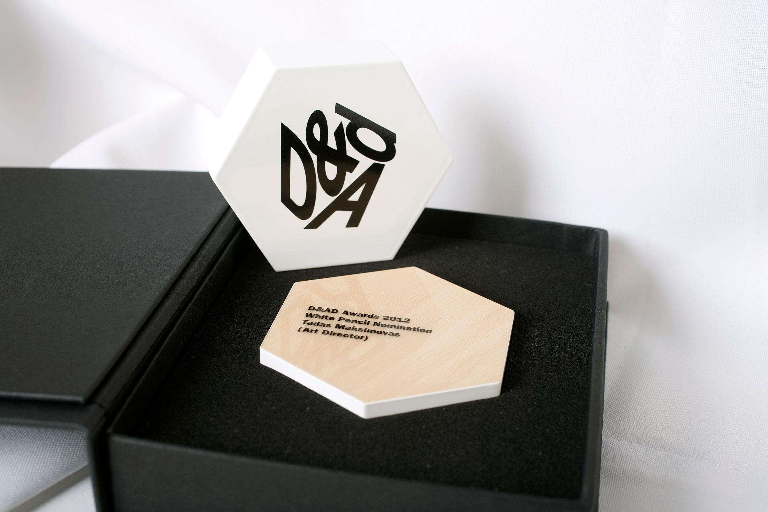 D&AD award nomination slice.