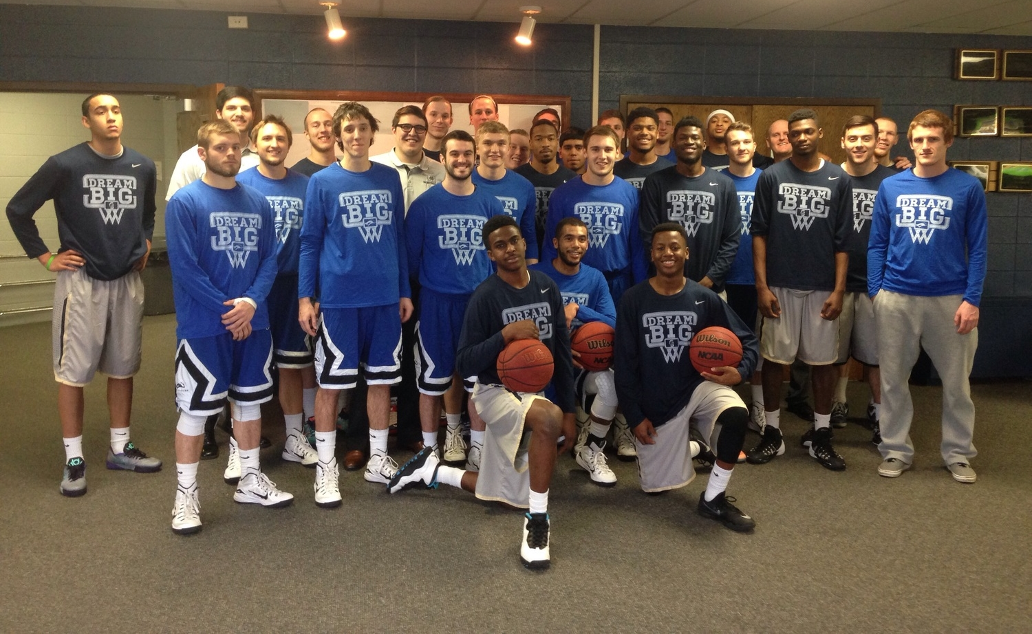 Hillsdale Baptist vs. Ozark Christian-January 31, 2015-Two Teams...One Game....One Cause!