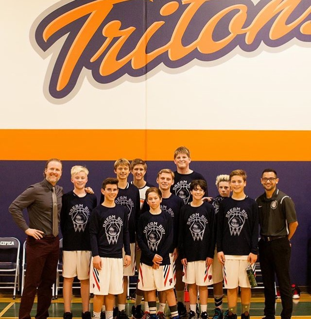 """One of FIVE new schools that partnered with us during 2015, the Pacifica Christian Tritons (in Newport Beach, CA) helped raise support and funding during their week long """"Wedge Week"""". Truly grateful for their support & look forward to working together in the years to come. Dream Big!!"""