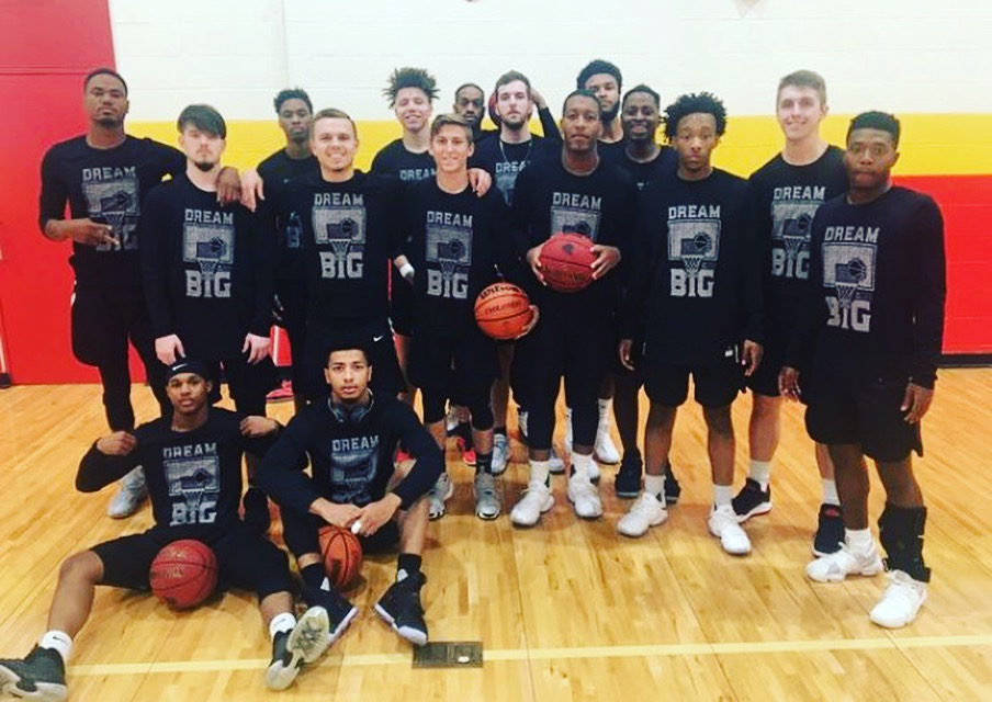 Dallas Christian College, one of our new schools this season, is helping us raise awareness in Texas by wearing our Dream Big shirts! Big thanks to Coach Jordan Strom for helping us partner with them this year!