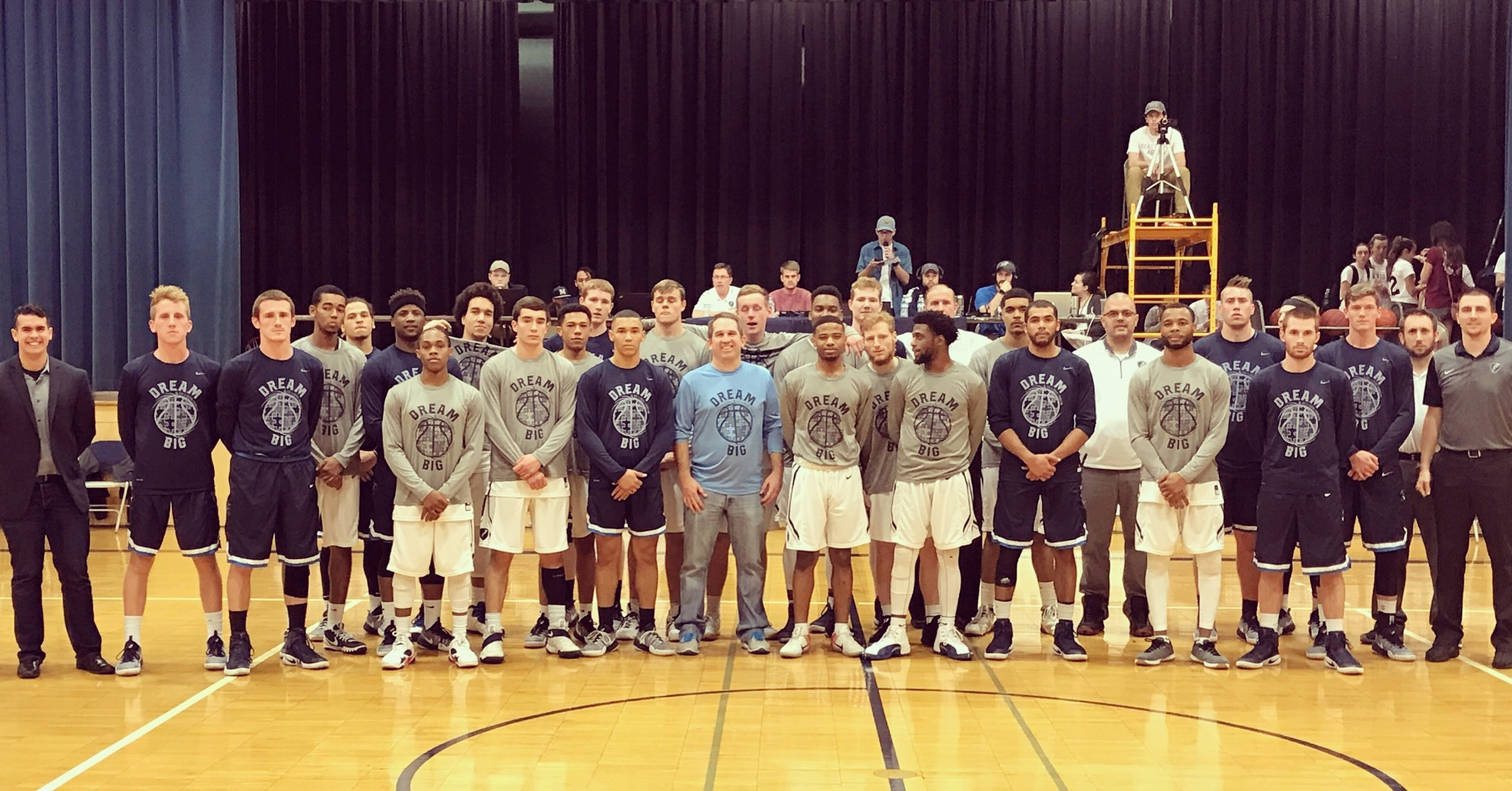 The Ozark Christian vs Manhattan Christian awareness outing game was great last year! Both team rocked our Dream Big shirts to help raise awareness. Grateful for the support of both schools!