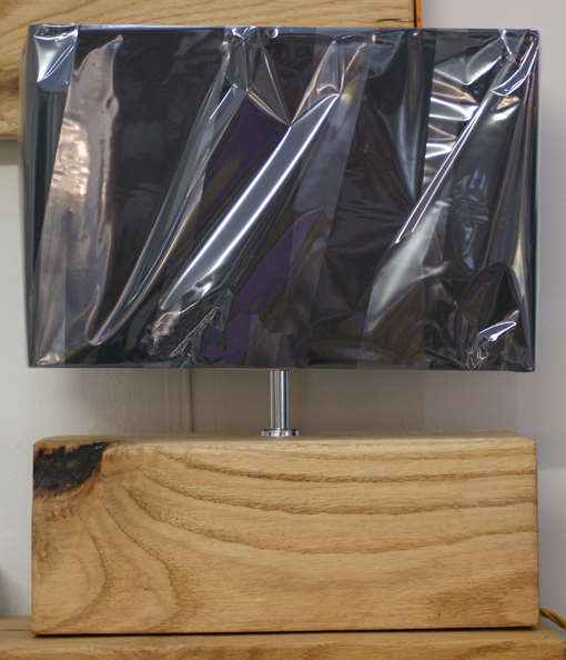 black shade lamp with square log.jpg