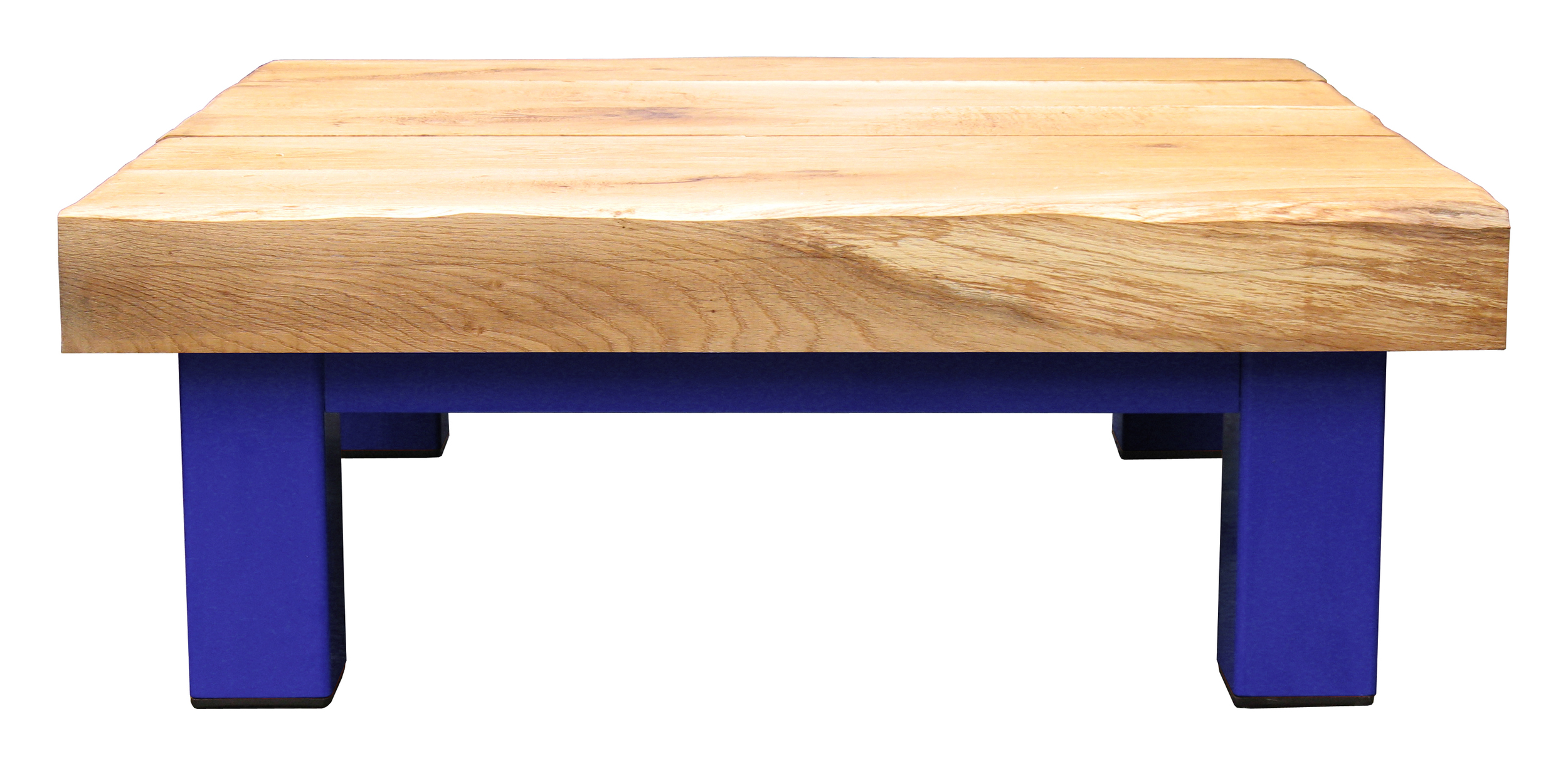 Oak & Iron Furniture Large Coffee Table - Dark Blue