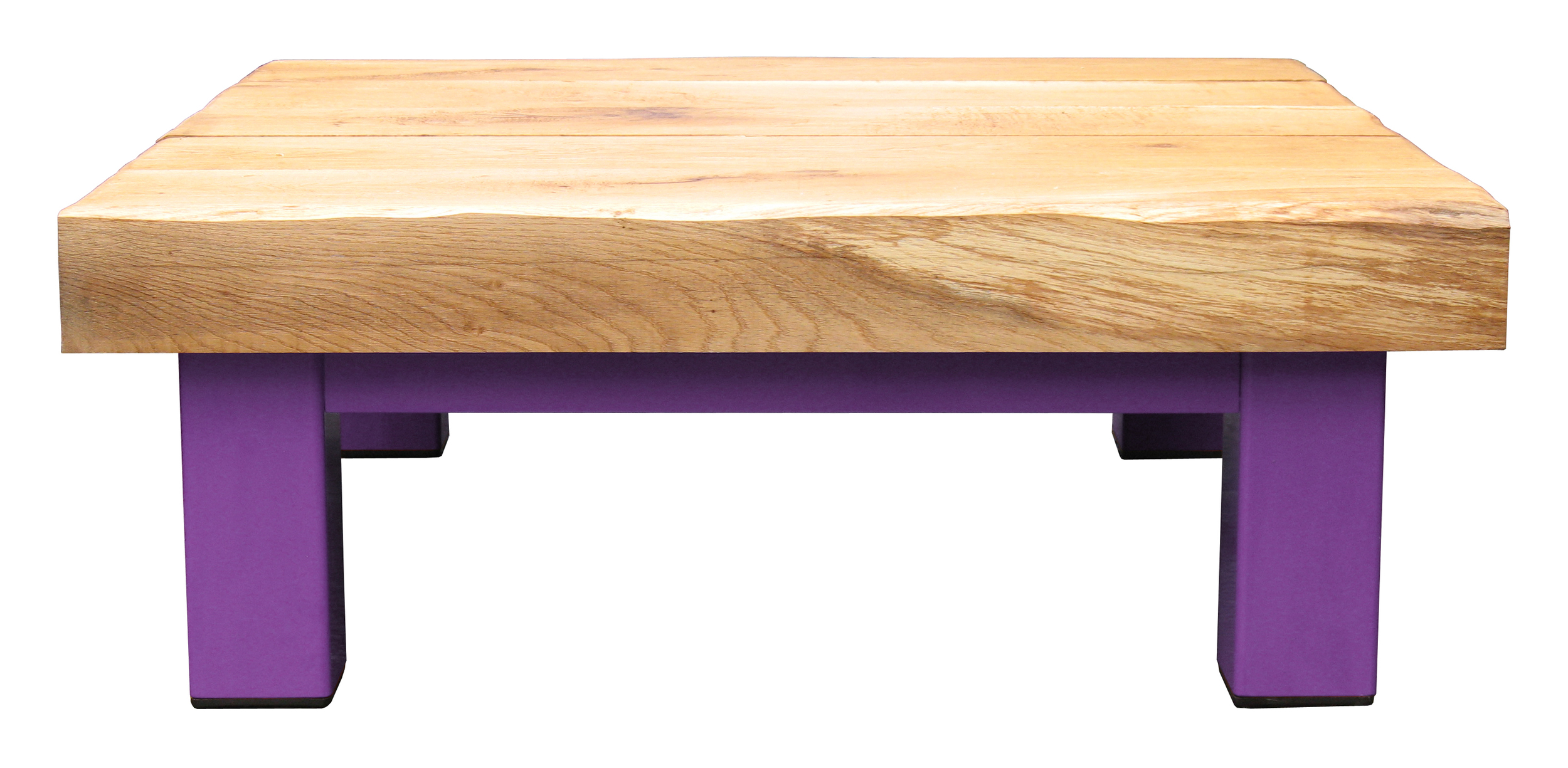 Oak & Iron Furniture Large Coffee Table - Purple
