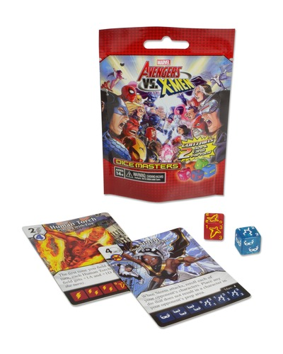 Here's one of the boosters. Two dice and two cards for $0.99 is a pretty good deal...