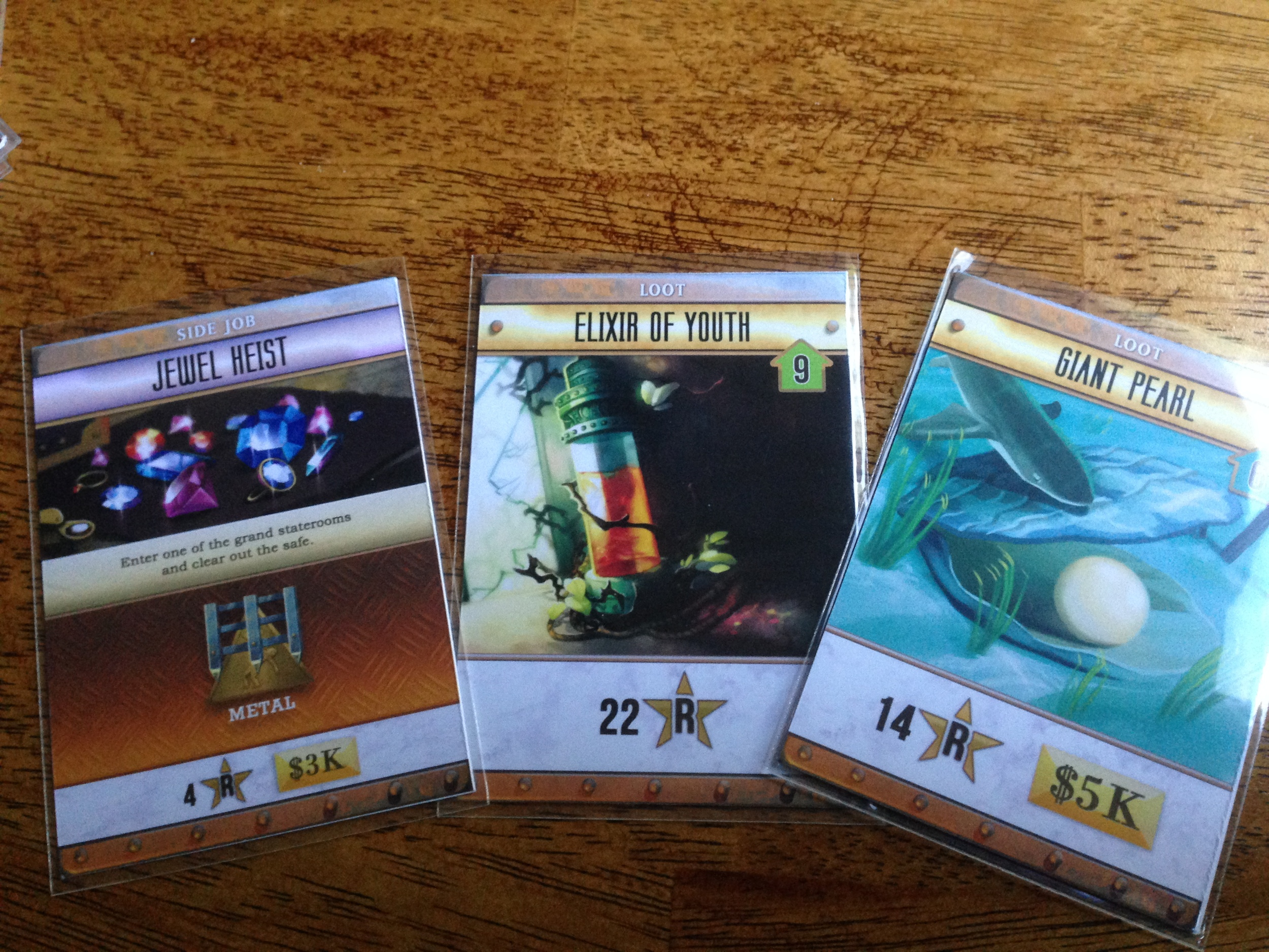 Some Side job and Loot cards