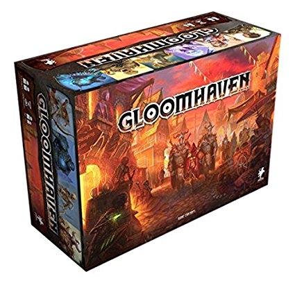 Gloomhaven - Gloomhaven is the hottest thing going right now. It's a deeply thematic, legacy game that lives up to the hype!