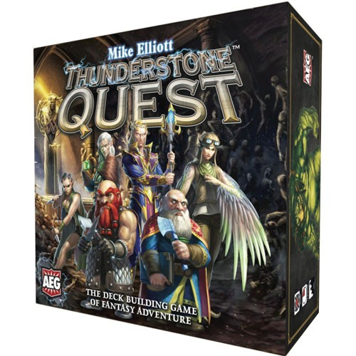 Thunderstone Quest - The latest in the Thunderstone franchise, Thunderstone Quest is a fantastic, deck-builder. It comes with nearly 1,000 cards, so the replay value is high! You're getting what you pay for here!
