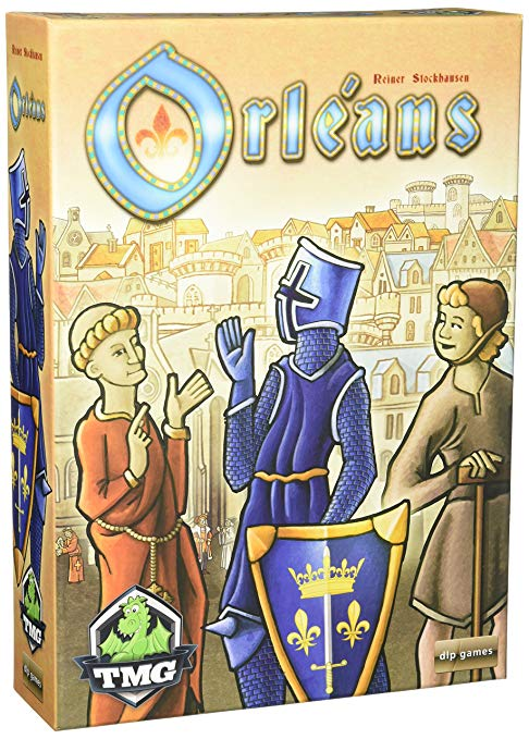 Orleans - We all LOVE this game! It's a great spin on deck-building. Orleans is the first
