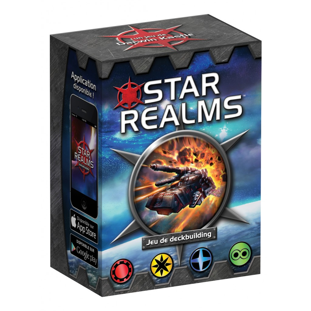 Star Realms - Star Realms is quite simply the easiest deck-builder to learn. Easy to learn, quick to play, it's super fun!