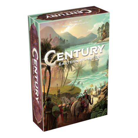 Century Eastern Wonders - One of the newest titles on the list, Century Eastern Wonders is the second in the Century franchise for Plan B Games.