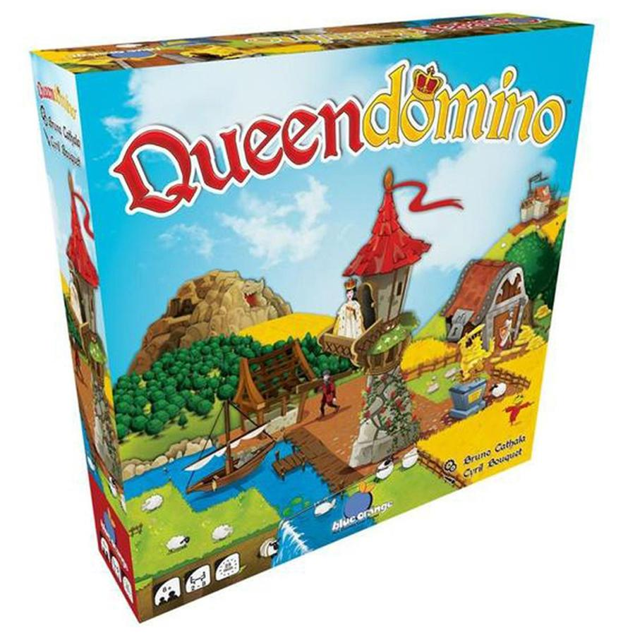 Queendomino - Kingdomino won the Spiel des Jahres in 2017, and later that year Blue Orange released Queendomino, which, in my opinion, is the better of the two (at least until we play the expansion to Kingdomino).