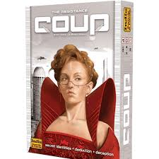 Coup - A great, quick-playing social deduction game, Coup will have you second guessing every play on every turn!