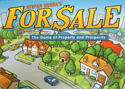 For Sale - A classic filler about buying and selling properties. Super fast. Super portable. And super nongamer friendly.