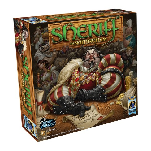 Sheriff of Nottingham - An awesome fast pace bluffing game. This game always have me and my friends laughing our tails off.