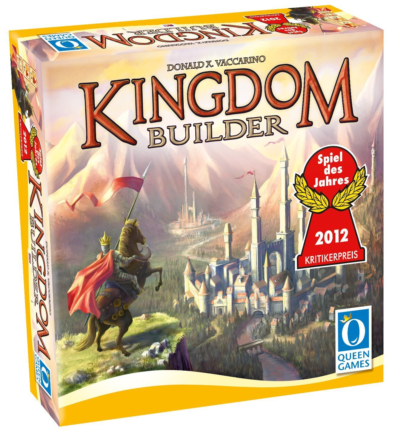 Kingdom Builder - KingdomBuilder might be my all-time favorite game. Never has a game packed such a simple mechanic with so much strategy and ever-changing Gameplay combinations.