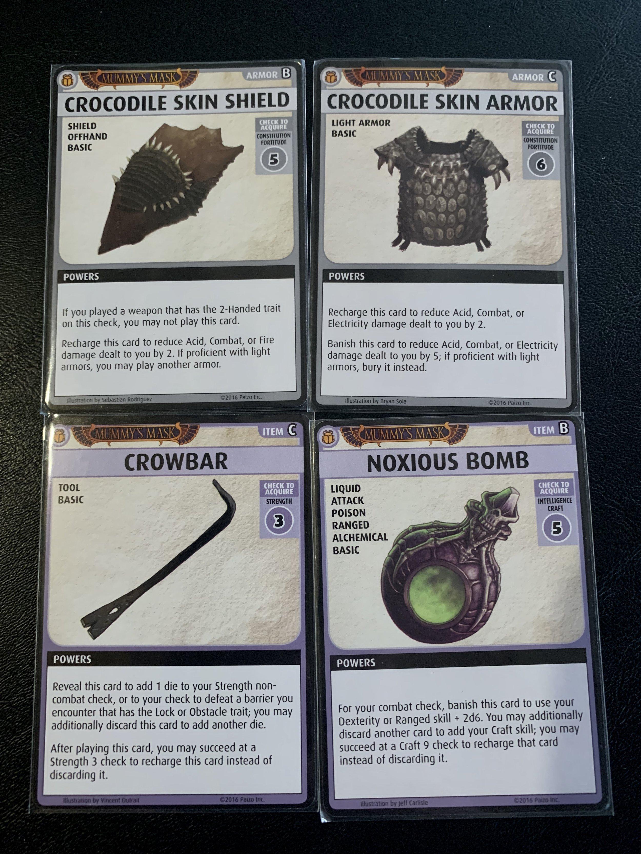 Armor & Items