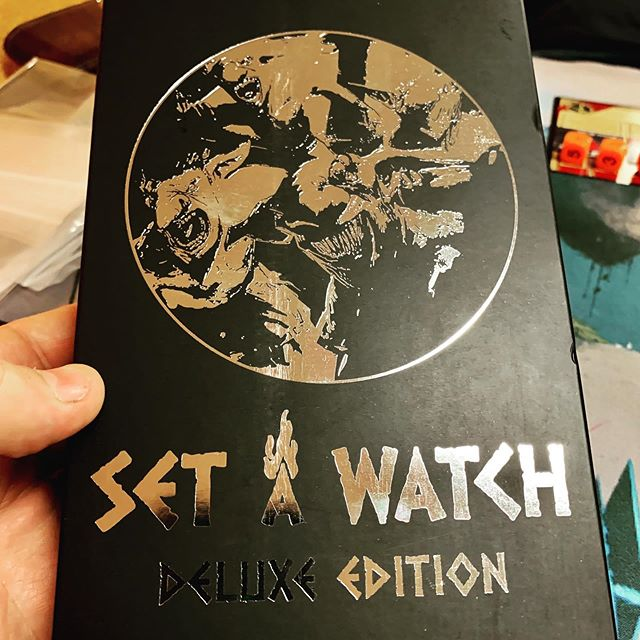 Last night we Set a Watch. Fun co-op fantasy horde game from @rockmanorgames.