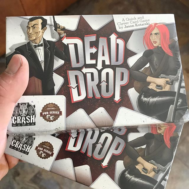 Don't often buy games from Amazon (especially games I already own) but when I saw they had Dead Drop by @jasonkotarski I snatched up 2 extra copies! One of my favorite deduction micro games! . . . . . #analoggames #boardgame #art #tabletop #game #gamer #boardgamesofinstagram #gaming #cardgame #brettspiele #boardgames #boardgamegeek #geek #tabletopgames #tabletopgaming #cardgames #nerd #love #boardgamer #games #juegosdemesa #kickstarter #gamenight #bgg #boardgamenight #tabletopgame #brettspiel #boardgaming #fun #dice via